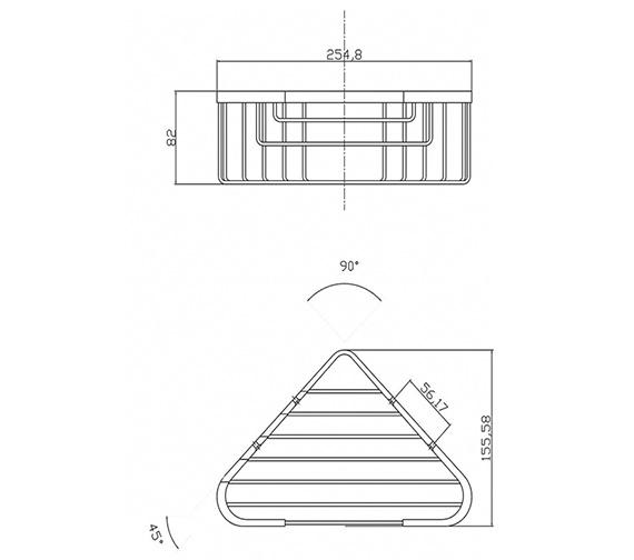 Technical drawing QS-V37000 / LL306