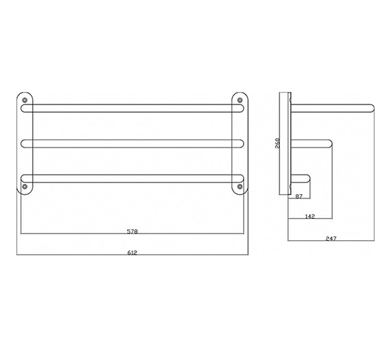 Technical drawing QS-V37002 / LA380
