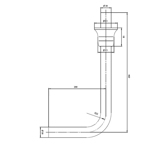 Technical drawing QS-V37014 / FA302