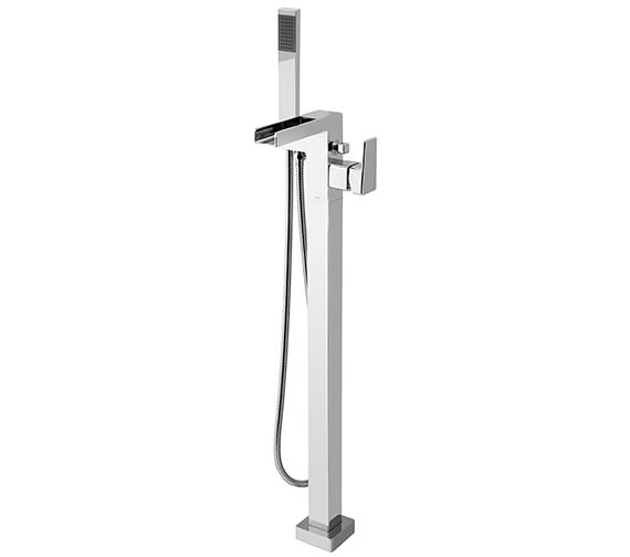 Synergie Floor Mounted Single Lever Bath Shower Mixer Tap