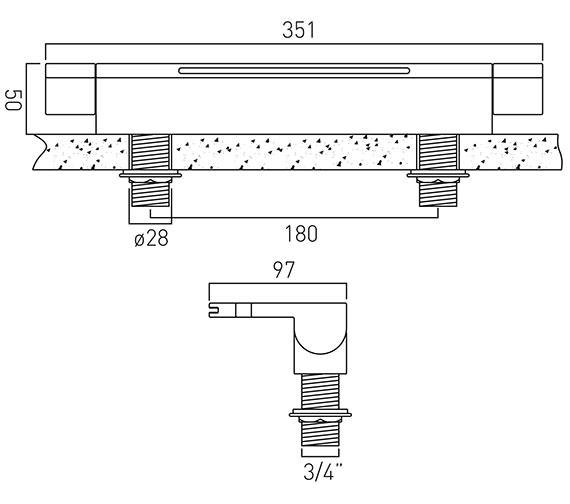 Technical drawing QS-V37041 / SUM-137-C/P