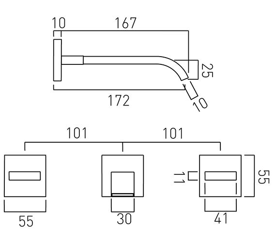 Technical drawing QS-V37052 / GEO-109-C/P