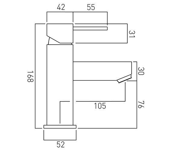 Technical drawing QS-V37067 / TE-100/SB-C/P