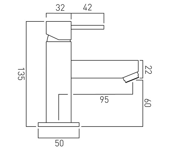 Technical drawing QS-V37068 / TE-100M/SB-C/P