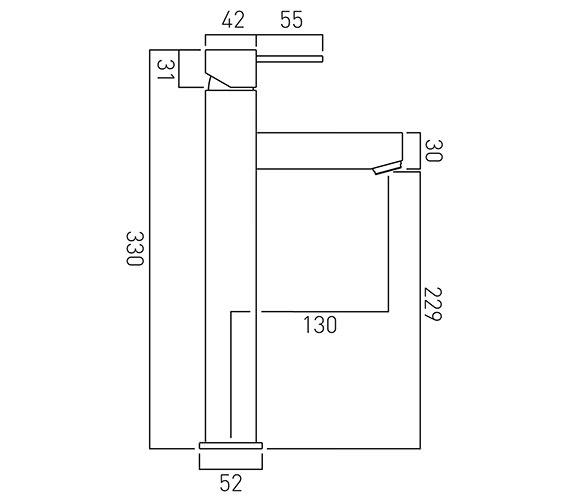 Technical drawing QS-V37069 / TE-100E/SB-C/P