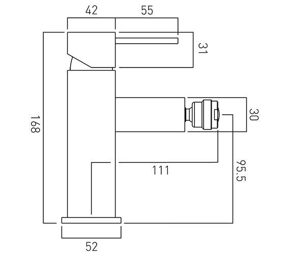 Technical drawing QS-V37072 / TE-110/SB-C/P