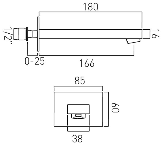 Technical drawing QS-V37083 / NOT-140-C/P