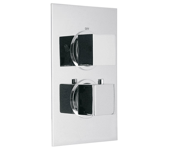 Vado Mix Concealed Thermostatic Shower Valve Three-Fourths Inch