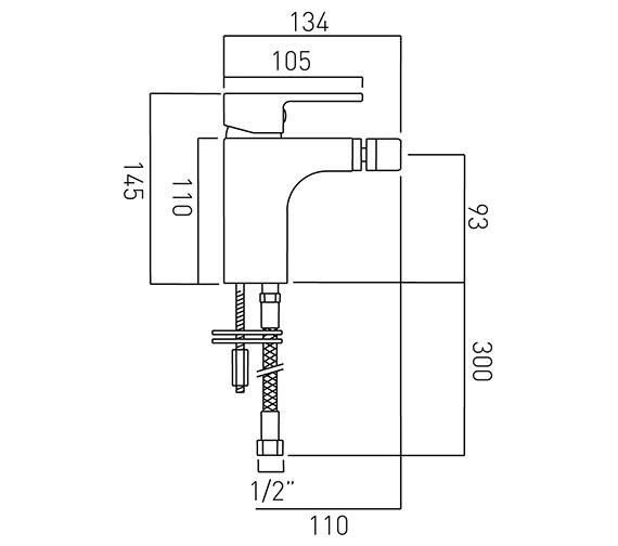 Technical drawing QS-V37094 / LIF-110/SB-C/P