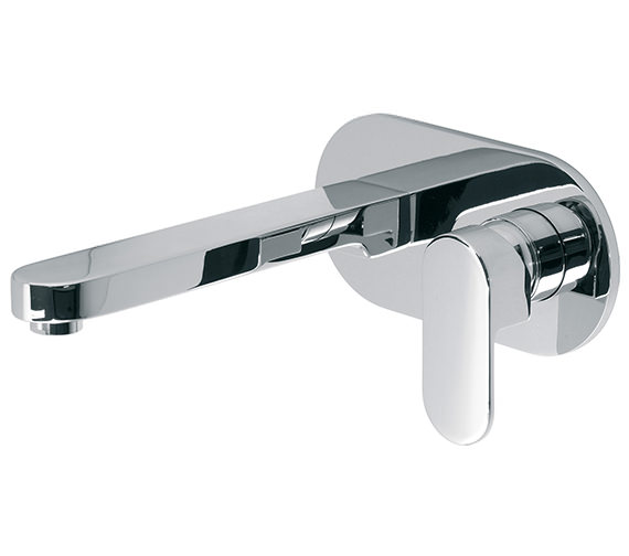 Vado Life Wall Mounted Single Lever Basin Mixer Tap - LIF-109S