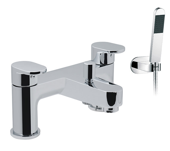 Vado Life 2 Hole Deck Mounted Bath Shower Mixer Tap