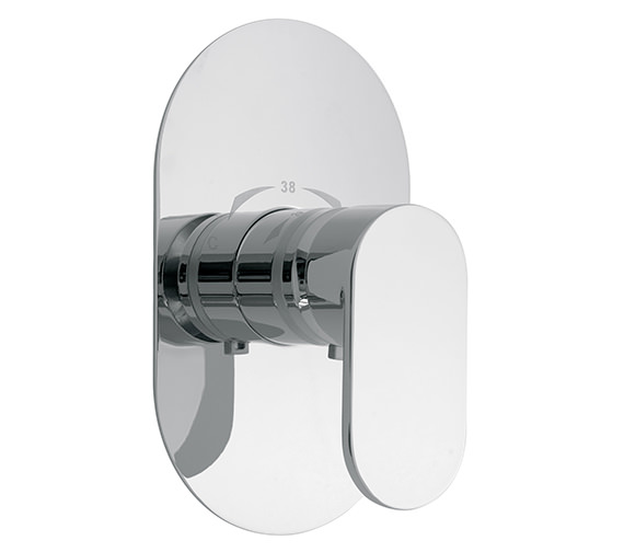 Vado Life Concealed Wall Mounted Thermostatic Shower Mixer Valve