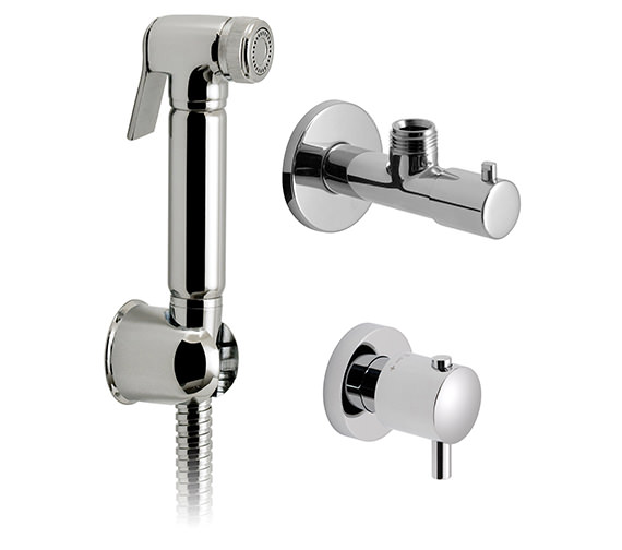 Vado Luxury Shattaf Kit With Thermostatic Valve And Angle Valve