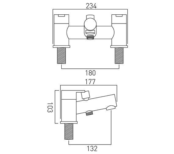 Technical drawing QS-V37143 / SEN-130-C/P