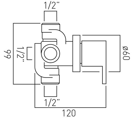 Technical drawing QS-V37158 / SEN-144/2-C/P