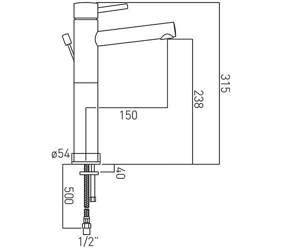 Technical drawing QS-V37170 / ZOO-100E-C/P