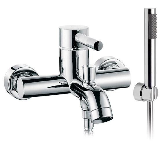 Vado Zoo Wall Mounted Bath Shower Mixer Tap With Kit - ZOO-123+K