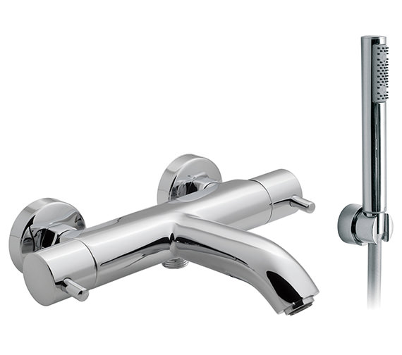 Vado Celsius Wall Mounted Thermostatic Bath Shower Mixer With Kit