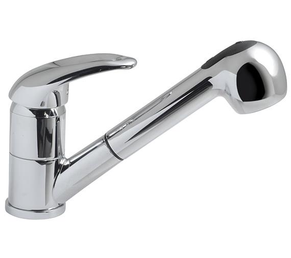 Vado Magma Mono Sink Mixer Tap Inc Pull Out Hand Spray - MAG-152