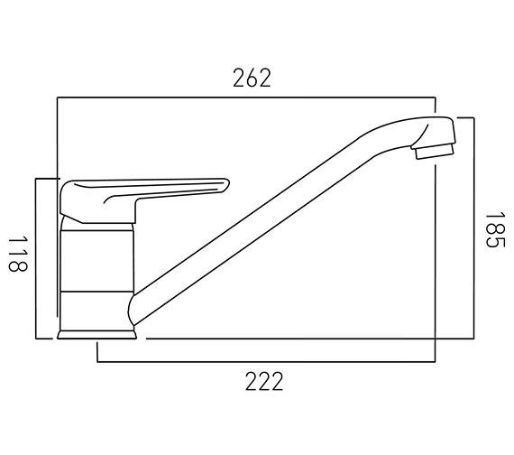 Technical drawing QS-V37338 / CHE-150-C/P