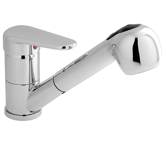 Vado Chelsea Kitchen Sink Mixer Tap With Pull-Out Handspray - CHE-152