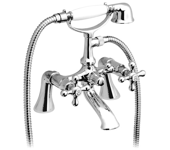 Vado Victoriana Bath Shower Mixer Tap With Kit And Short Legs