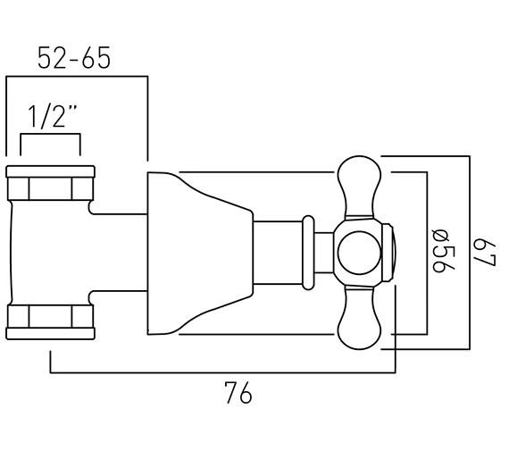 Technical drawing QS-V37385 / VIC-143/CD-1/2-C/P