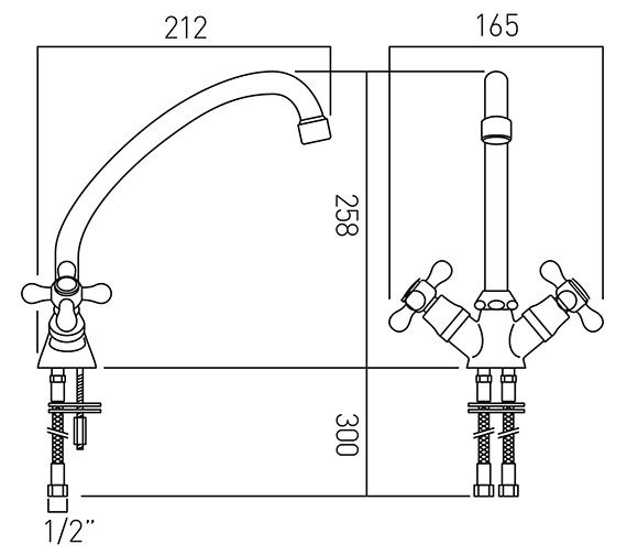 Technical drawing QS-V37388 / VIC-151/CD-C/P