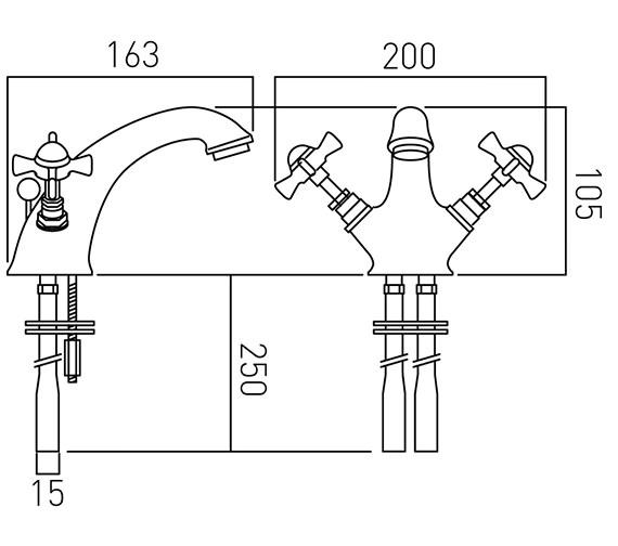 Technical drawing QS-V37398 / WEN-100-C/P