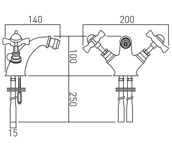 Technical drawing QS-V37399 / WEN-110-C/P