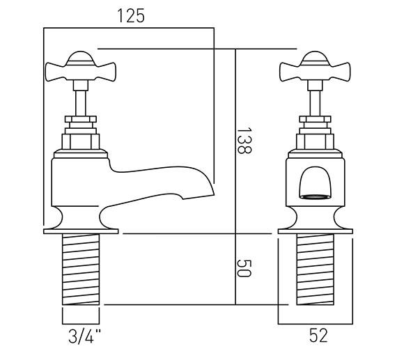 Technical drawing QS-V37401 / WEN-136-C/P