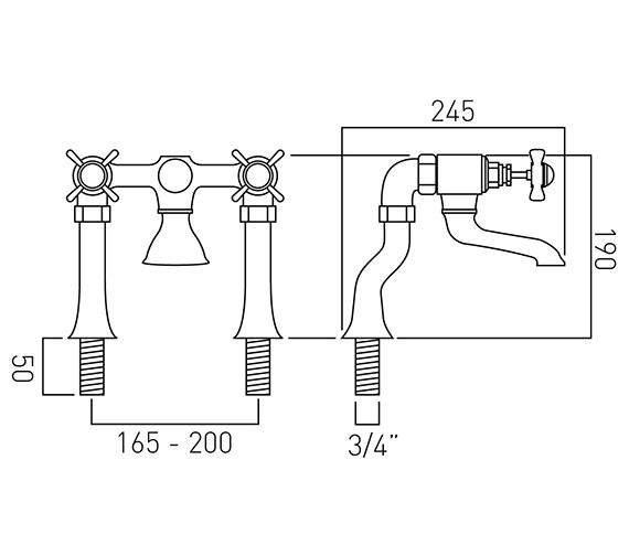 Technical drawing QS-V37402 / WEN-137-C/P