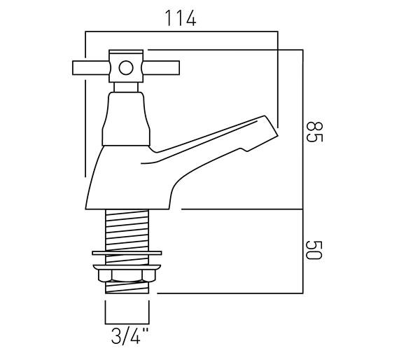 Technical drawing QS-V37410 / VEC-136/CD-C/P
