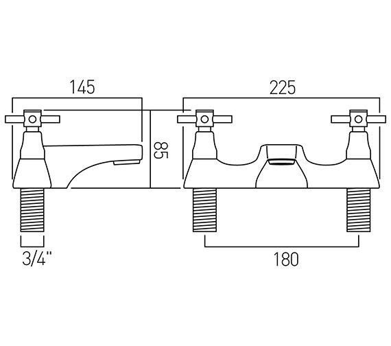 Technical drawing QS-V37415 / VEC-137/CD-C/P