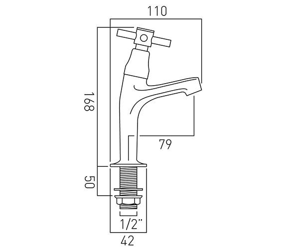 Technical drawing QS-V37423 / VEC-156/CD-C/P