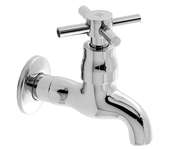 Vado Vecta Wall Mounted Bib Tap 100mm - VEC-162-CD-10