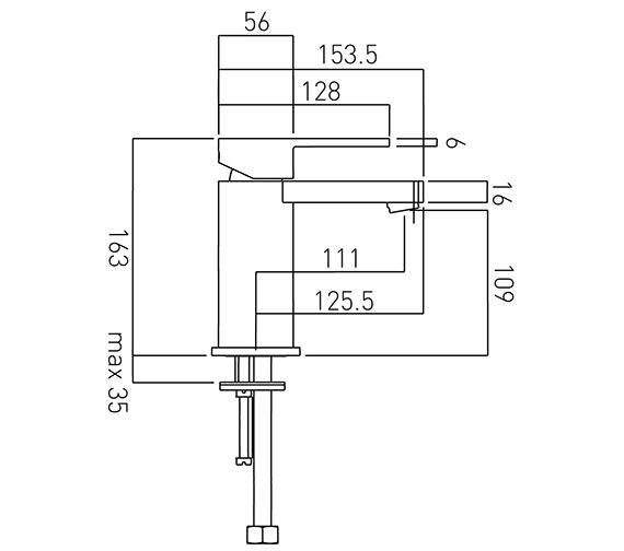 Technical drawing QS-V37436 / SOH-100/SB-C/P