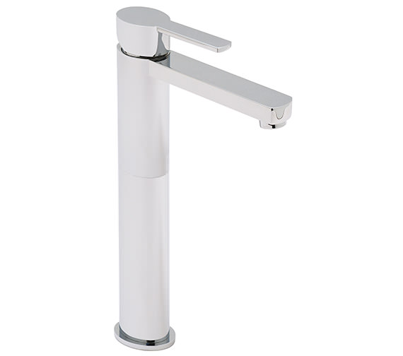 Vado Soho Extended Mono Basin Mixer Tap Exc Pop Up Waste - SOH-100E-SB
