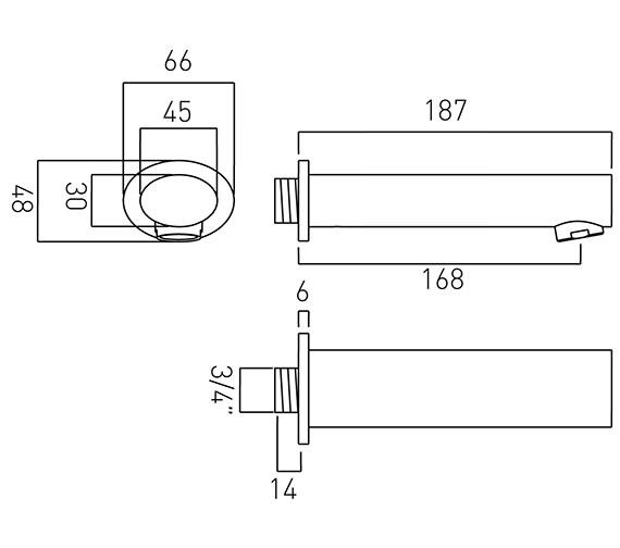 Technical drawing QS-V37447 / SOH-140-C/P