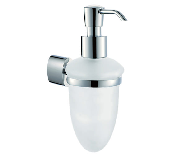Vado Soho Frosted Glass Soap Dispenser - SOH-182A