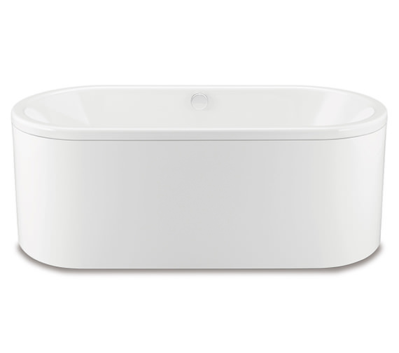 Kaldewei Centro Duo Oval 127-7 Moulded Panel Steel Bath 1700 x 750mm NTH