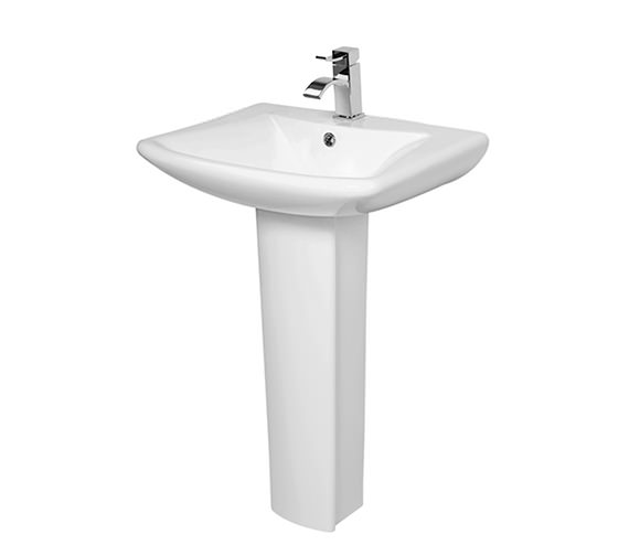 Phoenix Lisa Basin And Full Pedestal 600mm - LA004-LA005