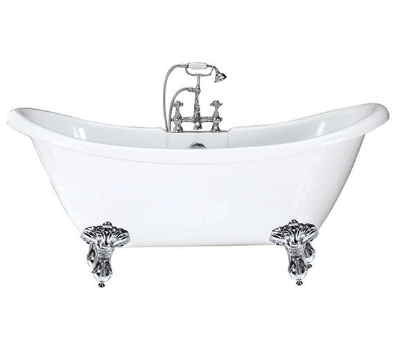 Phoenix Balmoral Double Ended Slipper Bath 1750 x 720mm - RT004