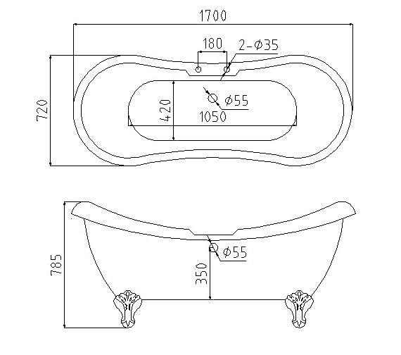 Technical drawing QS-V37533 / RT004