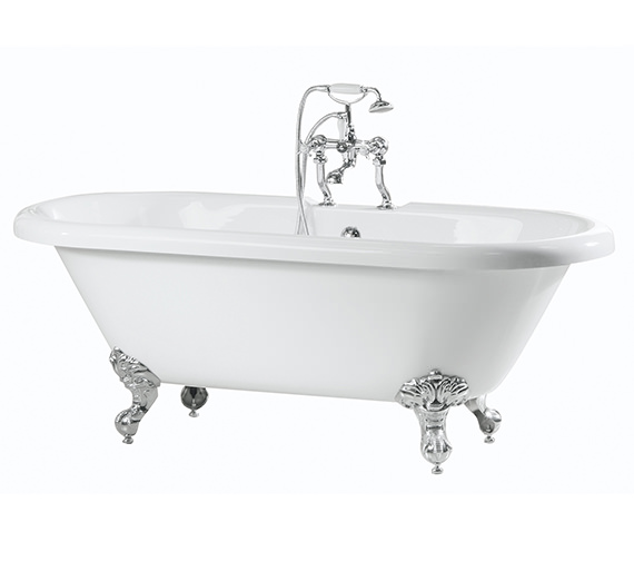 Phoenix Balmoral Double Ended Roll Top Bath 1700 x 750mm - RT002