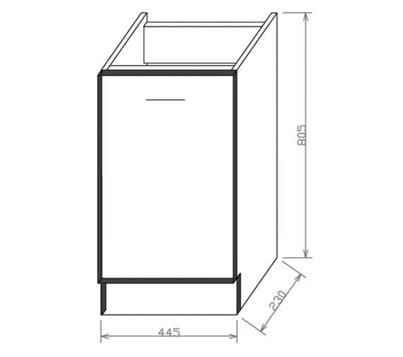 Technical drawing QS-V37586 / SQ002