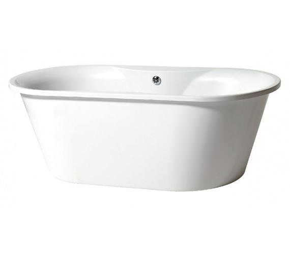 Phoenix Venice Freestanding Bath With White Surround - VENWH
