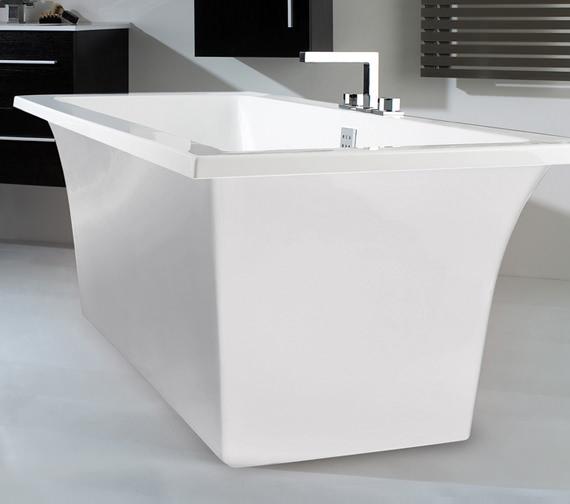Phoenix Assai Bath With White Surround 1700 x 750mm - BH081