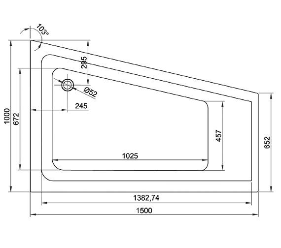 Technical drawing QS-V37637 / TARC722CBRHS2