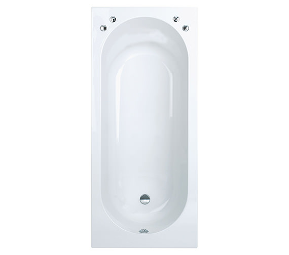Phoenix Verona Single Ended Standard Bath 1800 x 800mm - VERBT117